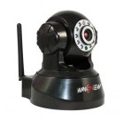 Wireless IP Pan/Tilt/     Wans-View Night Vision Internet Surveillance Camera Built-in Microphone With Phone remote