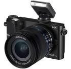 Samsung NX210 Kit     20.3-megapixel Digital Camera with 18-55mm Lens-Black
