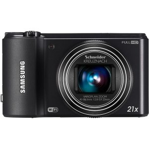 Samsung WB850F 16 MP Smart Long Zoom Digital Camera - Black EC (WB850FBPBUS)