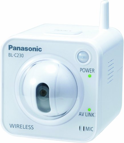 Panasonic BL-C230A Wireless Internet Security Camera